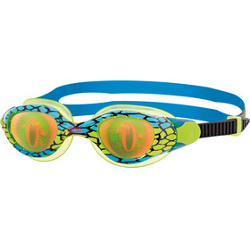 Zoggs Junior Sea Demon Goggle Green/Blue/Hologram